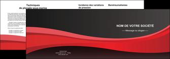 creation graphique en ligne depliant 2 volets  4 pages  standard texture contexture MLIG46543