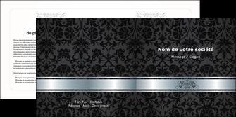 maquette en ligne a personnaliser depliant 2 volets  4 pages  standard texture abstrait MIF46659