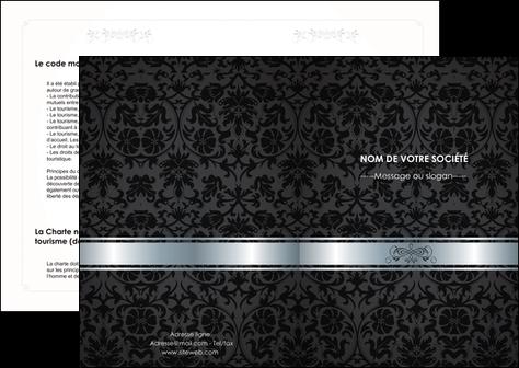 modele en ligne depliant 2 volets  4 pages  standard texture abstrait MIF46665