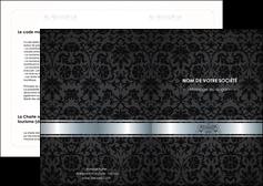 modele en ligne depliant 2 volets  4 pages  standard texture abstrait MLGI46665
