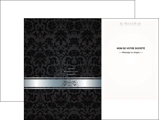 personnaliser maquette pochette a rabat standard texture abstrait MIF46677