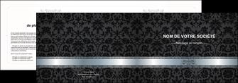 impression depliant 2 volets  4 pages  standard texture abstrait MIF46681