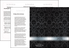 creation graphique en ligne depliant 3 volets  6 pages  standard texture abstrait MIF46695
