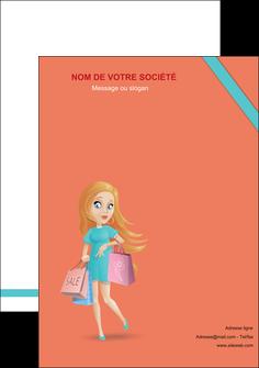 imprimerie affiche vetements et accessoires shopping magasin fille MLIG46699