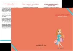 creer modele en ligne depliant 3 volets  6 pages  vetements et accessoires shopping magasin fille MLIG46715