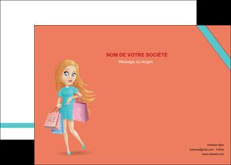 creation graphique en ligne affiche vetements et accessoires shopping magasin fille MLIG46721