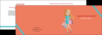 modele en ligne depliant 2 volets  4 pages  vetements et accessoires shopping magasin fille MLIG46725