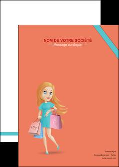 modele affiche vetements et accessoires shopping magasin fille MLIG46741