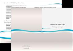 creation graphique en ligne depliant 2 volets  4 pages  standard texture contexture MLIG46809
