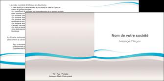 creer modele en ligne depliant 2 volets  4 pages  standard texture contexture MLIG46811