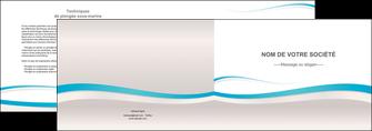 exemple depliant 2 volets  4 pages  standard texture contexture MLIG46823