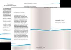 faire modele a imprimer depliant 3 volets  6 pages  standard texture contexture MLIG46837
