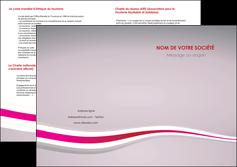 faire modele a imprimer depliant 2 volets  4 pages  standard texture contexture MLGI46887