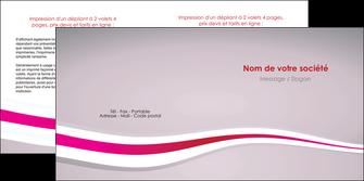imprimerie depliant 2 volets  4 pages  standard texture contexture MLGI46897
