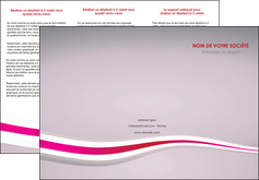 personnaliser modele de depliant 3 volets  6 pages  standard texture contexture MLGI46901