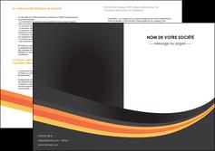 modele depliant 2 volets  4 pages  standard texture contexture MLIP46993