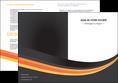 modele depliant 2 volets  4 pages  standard texture contexture MLGI46993