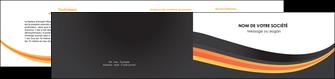 modele depliant 2 volets  4 pages  standard texture contexture MIS47005