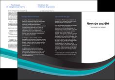 personnaliser maquette depliant 3 volets  6 pages  standard texture contexture MLIG47023