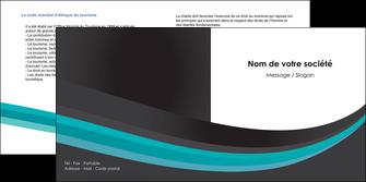 personnaliser maquette depliant 2 volets  4 pages  standard texture contexture MIF47043