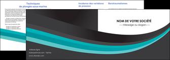 imprimer depliant 2 volets  4 pages  standard texture contexture MLIG47055