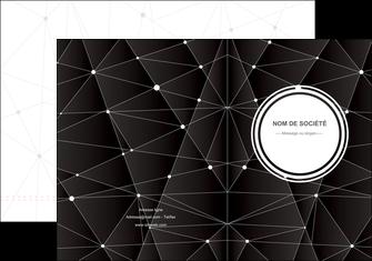 personnaliser maquette pochette a rabat standard texture contexture MIF47145