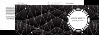 imprimer depliant 2 volets  4 pages  standard texture contexture MIF47149