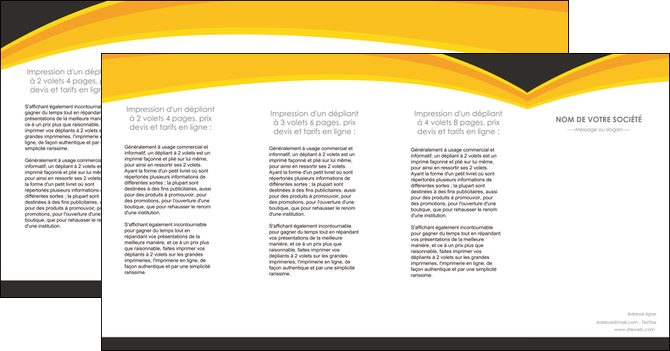imprimer depliant 4 volets  8 pages  standard texture contexture MLGI47265
