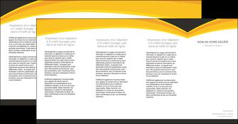 imprimer depliant 4 volets  8 pages  standard texture contexture MIF47265