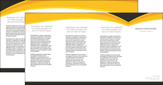 imprimer depliant 4 volets  8 pages  standard texture contexture MLIG47265