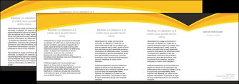 creer modele en ligne depliant 4 volets  8 pages  standard texture contexture MIF47267