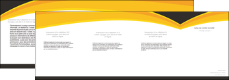 realiser depliant 4 volets  8 pages  standard texture contexture MIF47269