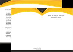 impression depliant 2 volets  4 pages  standard texture contexture MIF47271