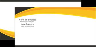 Commander Enveloppe  modèle graphique pour devis d'imprimeur Enveloppe sans fenêtre 100% imprimée DL recto