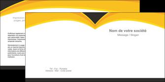 creation graphique en ligne depliant 2 volets  4 pages  standard texture contexture MIF47281