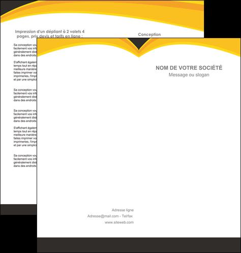imprimerie depliant 2 volets  4 pages  standard texture contexture MLGI47283