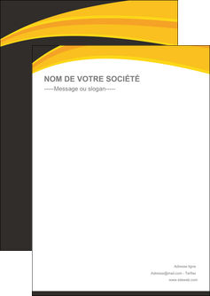 faire modele a imprimer flyers standard texture contexture MIF47309