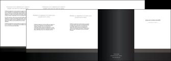modele depliant 4 volets  8 pages  standard texture contexture MLGI47315