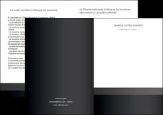 impression depliant 2 volets  4 pages  standard texture contexture MLGI47319