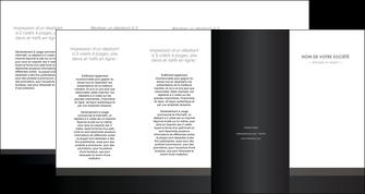 personnaliser modele de depliant 4 volets  8 pages  standard texture contexture MLGI47361