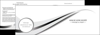 imprimerie depliant 2 volets  4 pages  texture contexture structure MIF47531
