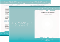 modele depliant 2 volets  4 pages  texture contexture structure MLGI47565