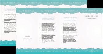 maquette en ligne a personnaliser depliant 4 volets  8 pages  texture contexture structure MLGI47609
