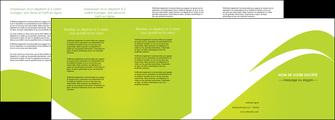 faire modele a imprimer depliant 4 volets  8 pages  texture contexture structure MLIG47863