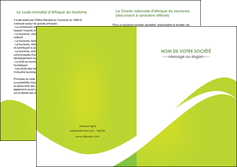 impression depliant 2 volets  4 pages  texture contexture structure MLIG47867