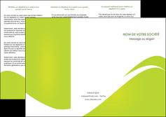 modele depliant 3 volets  6 pages  texture contexture structure MLIG47881