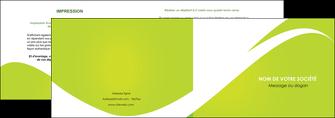 modele depliant 2 volets  4 pages  texture contexture structure MLIG47891