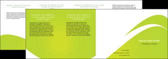 personnaliser modele de depliant 4 volets  8 pages  texture contexture structure MLIG47911