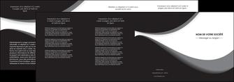 realiser depliant 4 volets  8 pages  texture contexture structure MIF47961