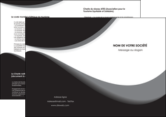 creer modele en ligne depliant 2 volets  4 pages  texture contexture structure MIF47963